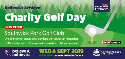 RNLI Charity Golf Day - RNLI Charity Golf Day  - Team Entry