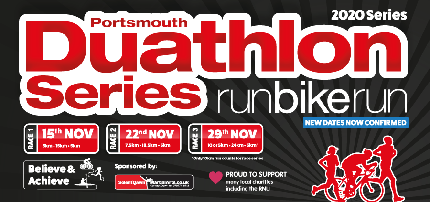 Portsmouth Duathlon Series 2020 - Portsmouth Duathlon Series 2020 (All 3 races) - Individual  (3 Races)