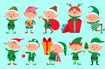 Santa Run Lapland Challenge - Santa Run Lapland Challenge - Kids Naughty Elves Mile