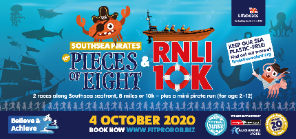Portsmouth RNLI 10K and Pieces Of Eight 2020 - Pieces of Eight 2020 - Pieces of Eight 2020